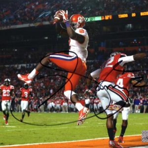 Sammy Watkins Autographed Clemson Tigers (Orange Bowl TD) 8x10 Photo