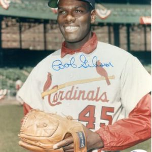 Bob Gibson Autographed St. Louis Cardinals 8x10 Photo - JSA