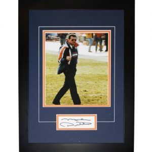 "Mike Ditka Autographed Chicago Bears (Middle Finger) ""Signature Series"" Frame"