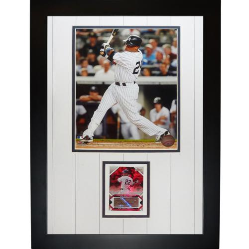 Robinson Cano Autographed New York Yankees Signature Series Card