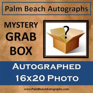 MYSTERY GRAB BOX - Autographed 16x20 Photo
