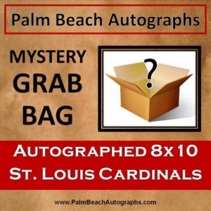 MYSTERY GRAB BAG - St Louis Cardinals Autographed 8x10 Photo