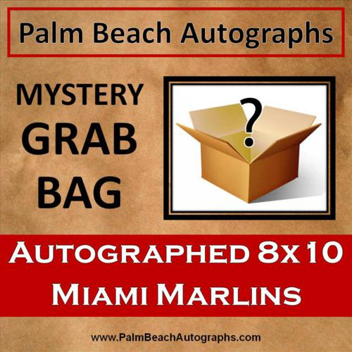 MYSTERY GRAB BAG - Florida/Miami Marlins Autographed 8x10 Photo