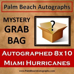 MYSTERY GRAB BAG - Miami Hurricanes Autographed 8x10 Photo