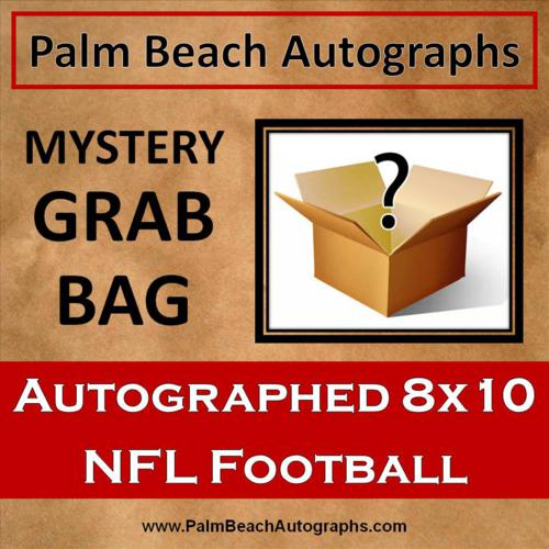 MYSTERY GRAB BAG - NFL Football Autographed 8x10 Photo