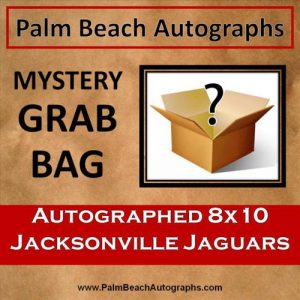 MYSTERY GRAB BAG - Jacksonville Jaguars Autographed 8x10 Photo