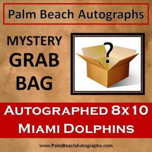 MYSTERY GRAB BAG - Miami Dolphins Autographed 8x10 Photo