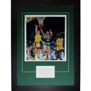 "Dennis Johnson Autographed Boston Celtics ""Signature Series"" Frame"