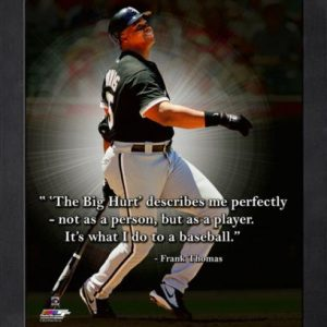 "Frank Thomas Chicago White Sox Framed 11x14 ""Pro Quote"""