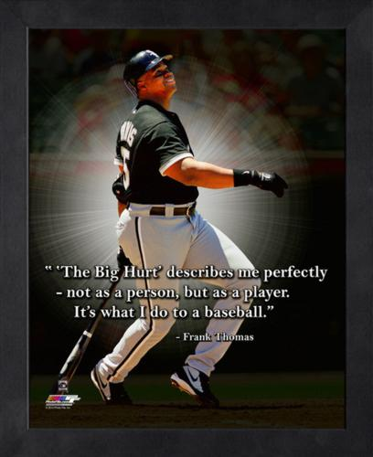 """Frank Thomas Chicago White Sox Framed 11x14 """"Pro Quote"""""""