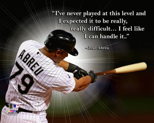 "Jose Abreu Chicago White Sox Framed 11x14 ""Pro Quote"""