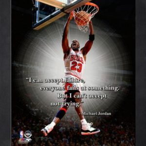"Michael Jordan Chicago Bulls Framed 11x14 ""Pro Quote"" #1"