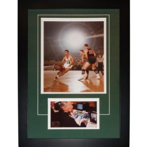 "Bob Cousy Autographed Boston Celtics ""Signature Series"" Frame"
