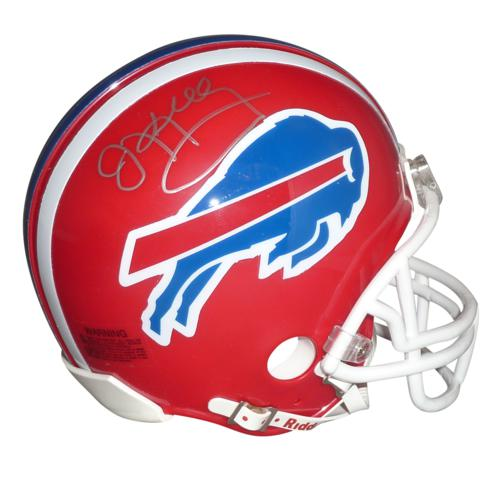 Jim Kelly Autographed Buffalo Bills Mini Helmet