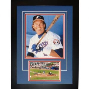"Gary Carter Autographed Montreal Expos ""Signature Series"" Frame"