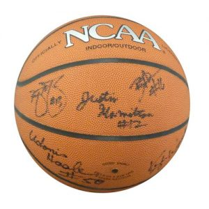 1999-00 Florida Gators Team and Billy Donovan Autographed NCAA Basketball