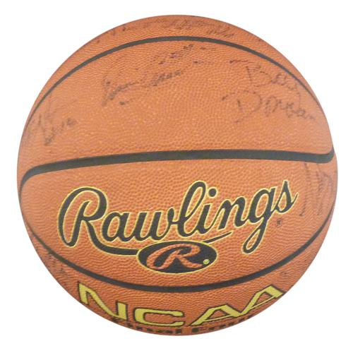 2000-01 Florida Gators Team and Billy Donovan Autographed NCAA Basketball