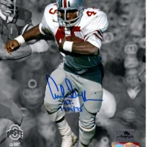 "Archie Griffin Autographed Ohio State Buckeyes (Spotlight) 8x10 Photo w/ ""H.T. 1974/75"""