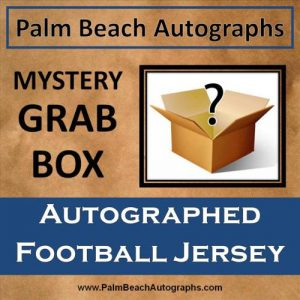 MYSTERY GRAB BOX - Autographed NFL/NCAA Football Jersey