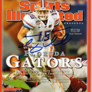 Tim Tebow Autographed Sports Illustrated (Commemorative 2008 National Champions) Magazine - Tebow Holo