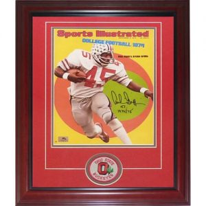 "Archie Griffin Autographed Ohio State Buckeyes (Sports Illustrated) Deluxe Framed 11x14 Photo w/ ""H.T. 1974/75"""