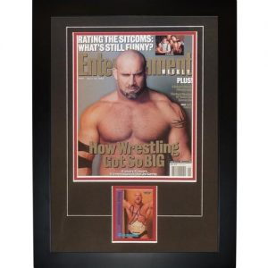 "Bill Goldberg Autographed Wrestling ""Signature Series"" Frame"