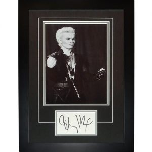 "Billy Idol Autographed Music ""Signature Series"" Frame"