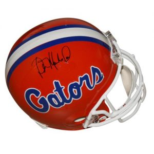 Wilber Marshall Autographed Florida Gators Deluxe Full-Size Replica Helmet