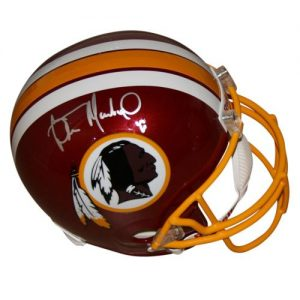 Wilber Marshall Autographed Washington Redskins Deluxe Full-Size Replica Helmet