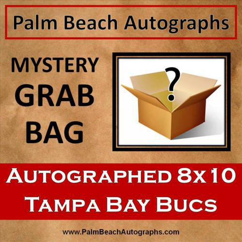 MYSTERY GRAB BAG - Tampa Bay Buccaneers Autographed 8x10 Photo