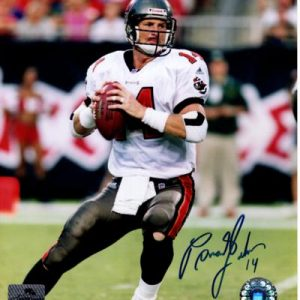 Brad Johnson Autographed Tampa Bay Buccaneers 8x10 Photo - TriStar