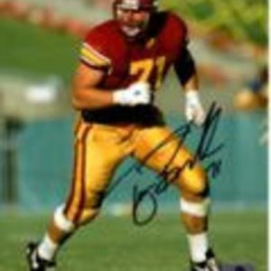 Tony Boselli Autographed USC Trojans 8x10 Photo