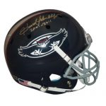 Howard Schnellenberger Autographed Florida Atlantic FAU Owls Deluxe Full-Size Replica Schutt Helmet