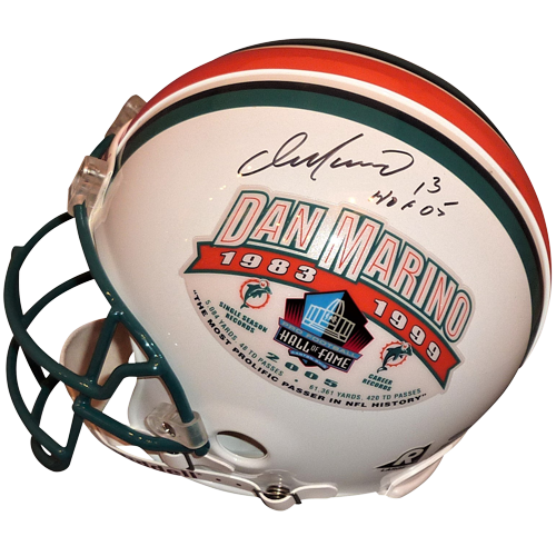 the best attitude 7db87 f3030 Dan Marino Autographed Miami Dolphins (Commemorative) Authentic Proline  Helmet - Limited Edition - Marino Holo & MM