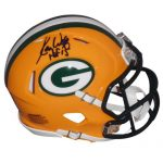 "Ron Wolf Autographed Green Bay Packers Mini Helmet w/ ""HOF 15"""