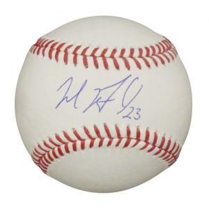 Michael Brantley Autographed MLB Baseball - Cleveland Indians