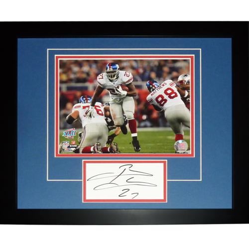 "Brandon Jacobs Autographed New York Giants (SB XLII) ""Signature Series"" Frame"