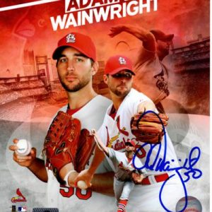 Adam Wainwright Autographed St. Louis Cardinals (Collage) 8x10 Photo