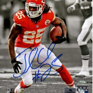 Jamaal Charles Autographed Kanas City Chiefs (Spotlight) 8x10 Photo - Charles Holo