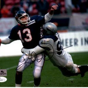Kurt Warner Autographed NFL Europe Amsterdam Admirals 8x10 Photo - JSA
