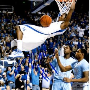 John Wall Autographed Kentucky Wildcats (Dunking) 8x10 Photo - JSA