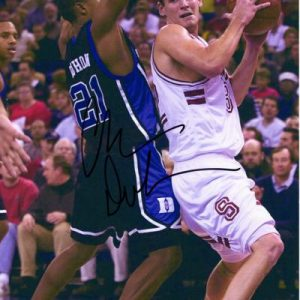 Chris Duhon Autographed Duke Blue Devils 8x10 Photo