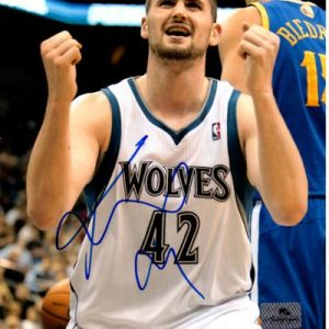 Kevin Love Autographed Minnesota Timberwolves 8x10 Photo - JSA
