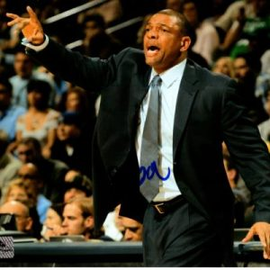 """Glenn """"Doc"""" Rivers Autographed Los Angeles Clippers 8x10 Photo"""