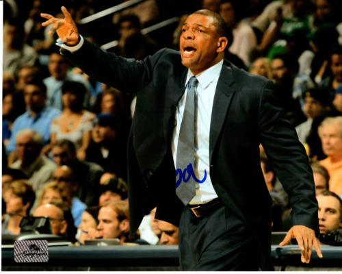 "Glenn ""Doc"" Rivers Autographed Los Angeles Clippers 8x10 Photo"