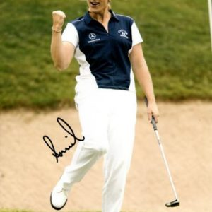 Annika Sorenstam Autographed LPGA Golf 11x14 Photo
