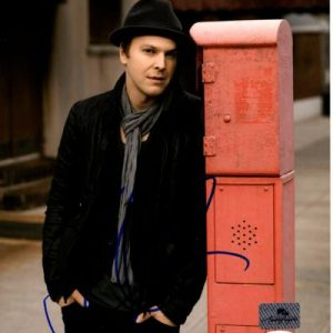 Gavin DeGraw Autographed Music 8x10 Photo - JSA