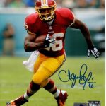 Alfred Morris Autographed Washington Redskins 8×10 Photo
