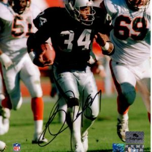 Bo Jackson Autographed Oakland Raiders 8x10 Photo - Jackson Holo