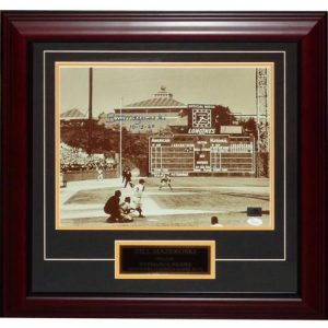 "Bill Mazeroski Autographed Pittsburgh Pirates (1960 WS HR) Deluxe Framed 11x14 Photo w/ ""10-13-60"" - JSA"